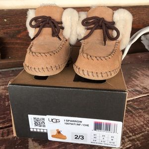 Infant Moccs-  I Sparrow Uggs